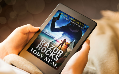 Razor Rocks, #13 in Paradise Crime Mysteries with Lei, is here!